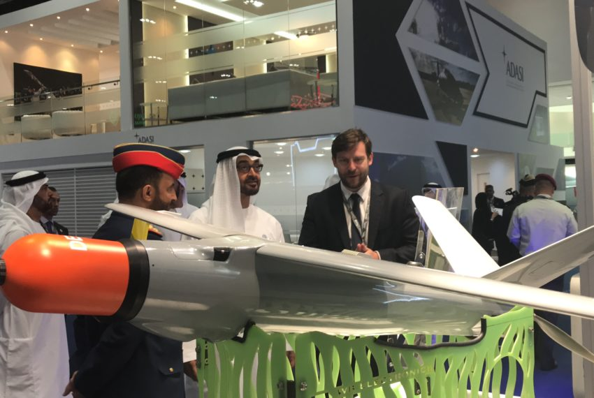 Our unmanned systems in United Arab Emirates
