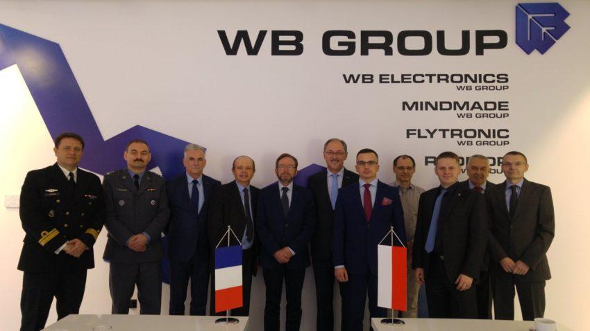Delegacja francuskiej DGA zwizytą wRadmor S.A.