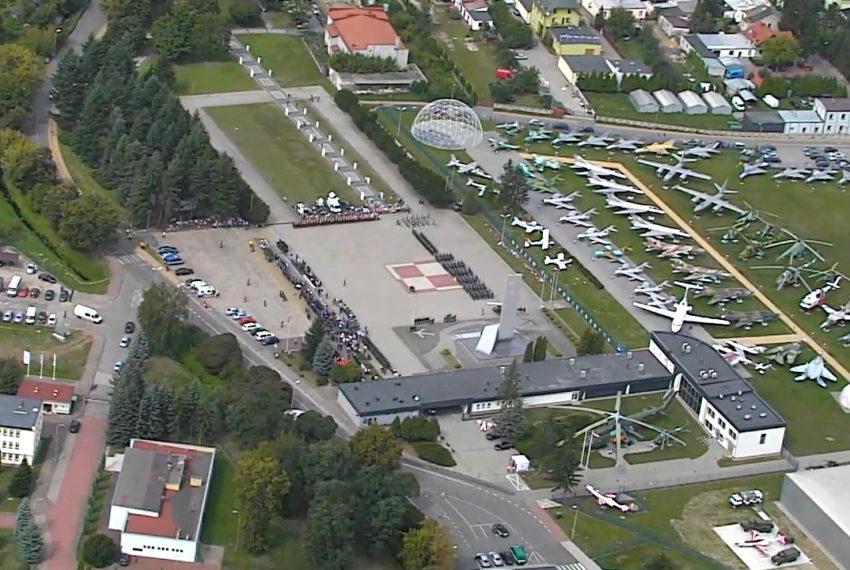 FT-5 Łoś na 100-leciu lotnictwa wojskowego w Dęblinie