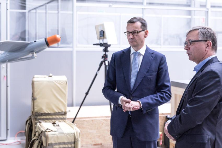 Premier RP z wizytą w siedzibie Grupy WB.