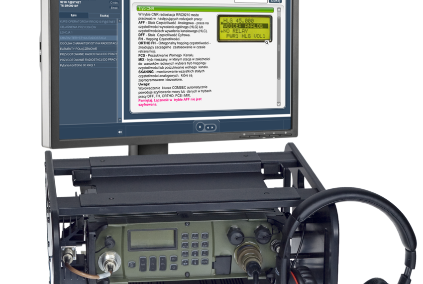TS 2RC9210F trenażer systemu RRC9210 F@STNET