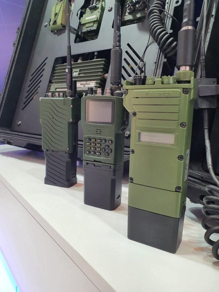 Radiostacje doręczne prezentowane wBułgarii