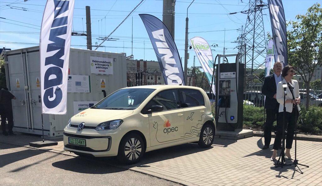 system ładowania pojazdów elektrycznych GRUPA WB