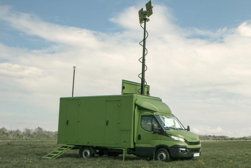 Mobilna stacja kontroli lotów NSK