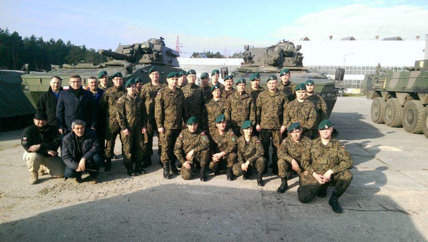 Kurs obsługi KMO 120 mm RAK zakończony sukcesem.