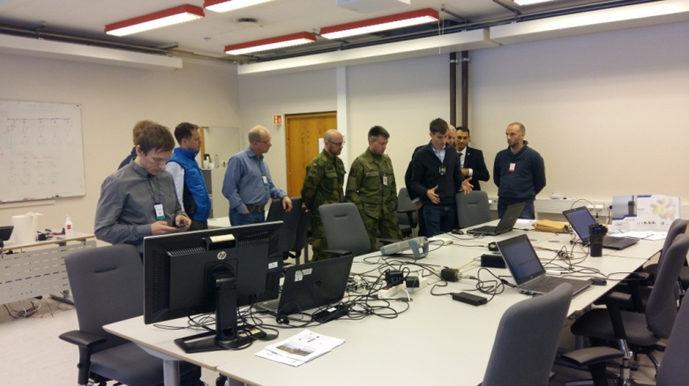 Pierwsze testy operacyjne WFmu NBWF (STANAG 5630 Ed1).