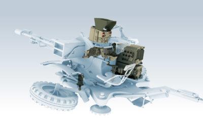 Pakiet modernizacyjny dla 23 mm armaty przeciwlotniczej ZU-23-2