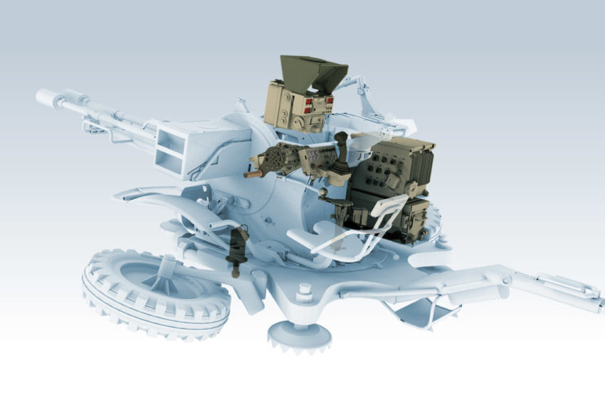 Modernization Package ARM-28 for ZU-23-2 autocannon