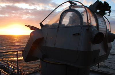 Electromechanical equipment for maritime AA gun ZU-23-2MR
