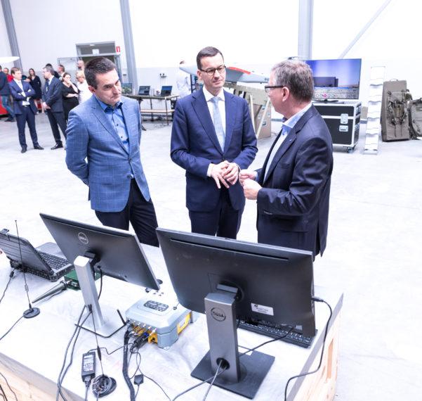Premier RP zwizytą wOżarowie Mazowieckim.