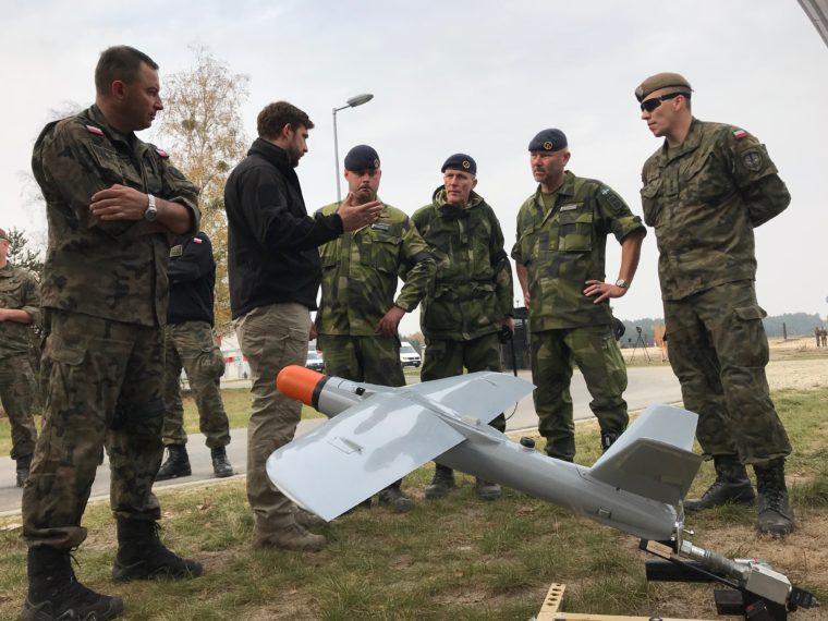 WARMATE wakcji dla przedstawicieli Szwedzkiej Gwardii Narodowej