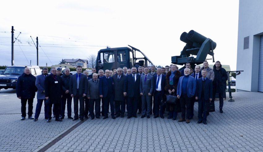 Delegacja rządowa-przemysłowa zUkrainy zwizytą wOżarowie Mazowieckim
