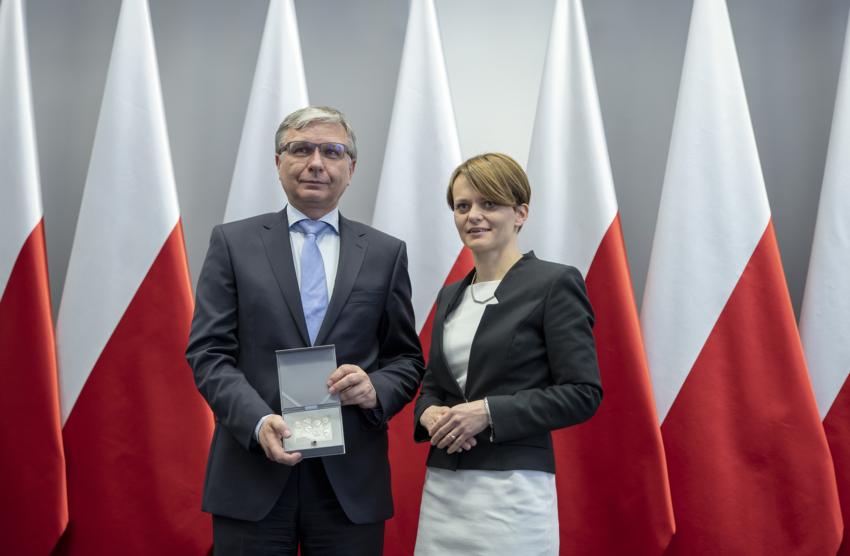 Prezes Grupy WB uhonorowany Medalem 100-lecia Odzyskania Niepodległości
