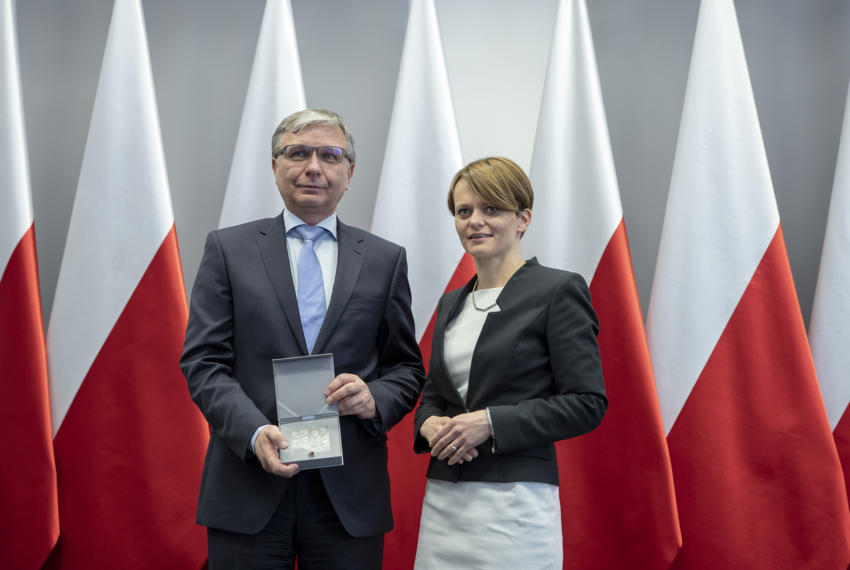 Piotr Wojciechowski honoured by the Prime Minister