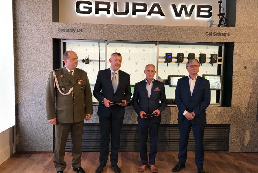 Pracownicy Grupy WB awansowani na stopnie oficerskie