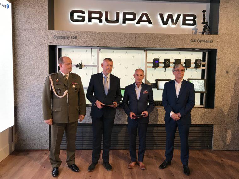 Pracownicy Grupy WB awansowani nastopnie oficerskie