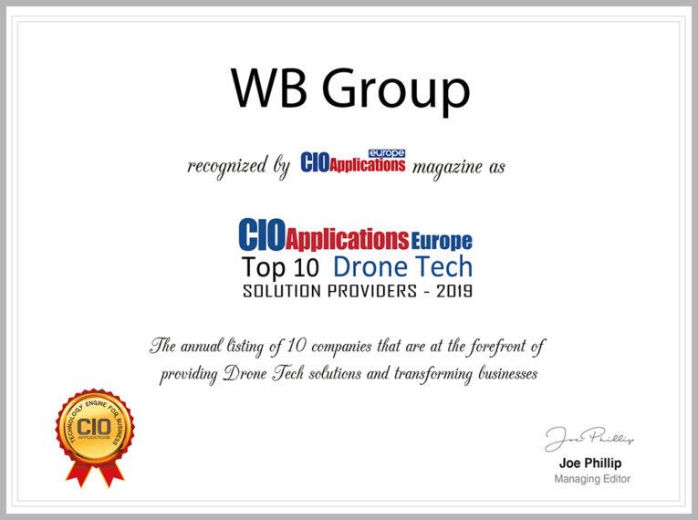 Technologie bezzałogowe Grupy WB docenione