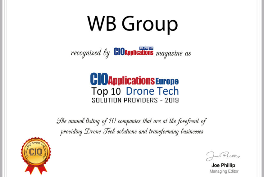 WB Group's unmanned technologies recognized