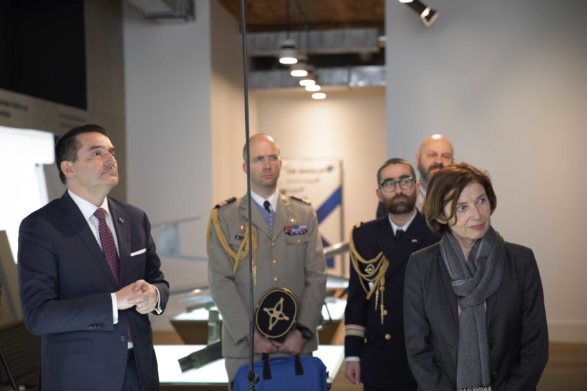 The French minister of the Armed Forces visited WB GROUP.