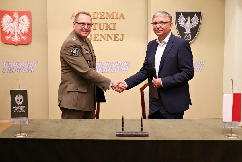Porozumienie Akademii Sztuki Wojennej i GRUPY WB.